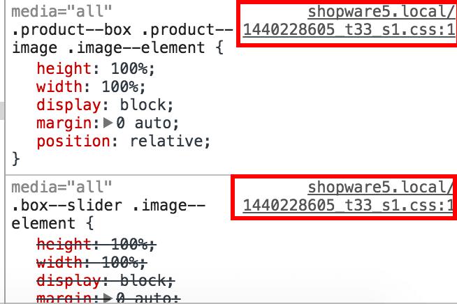 Element untersuchen mit Chrome