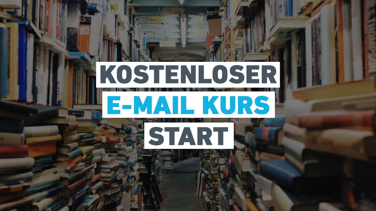 """Kostenloser E-Mail Kurs """"Lerne wie du deinen eigenen Shopware 5 Shop erstellst und verwaltest"""" ist gestartet"""
