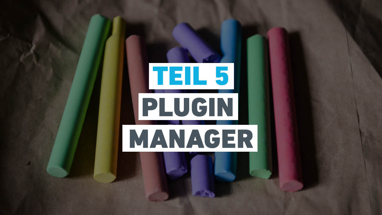 Teil 5 - Plugin Manager