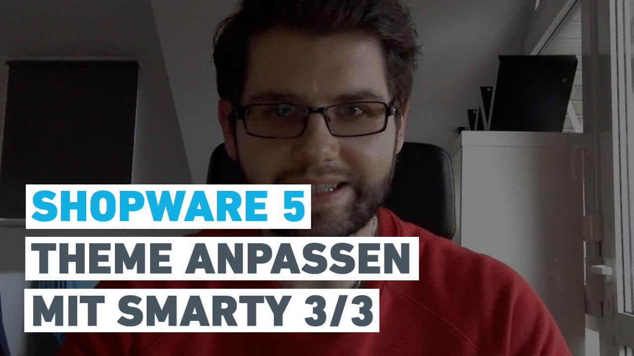 Video: Wie du dein erstes Shopware 5 Theme mit Smarty anpasst – Teil 3