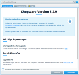 shopware_update_backend