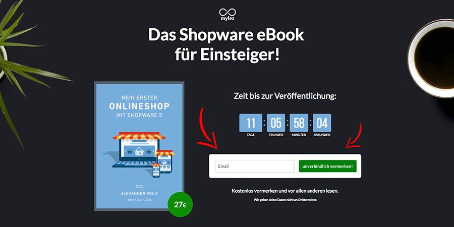 Das Shopware eBook für Einsteiger!