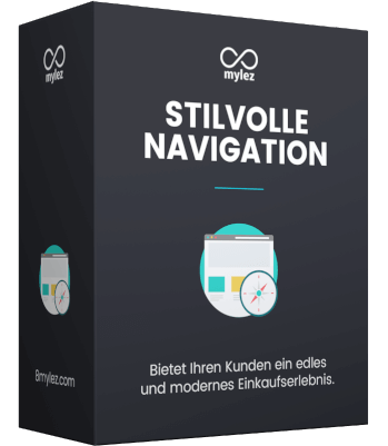 shopware navigation stilvoll 8mylez