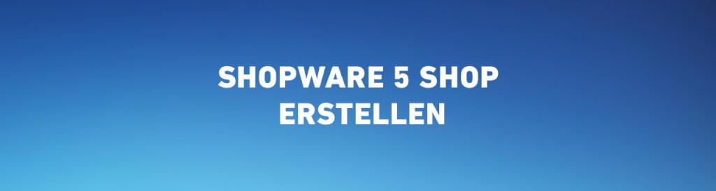 Shopware 5 Shop erstellen - Tipps, Tricks, Kosten & mehr