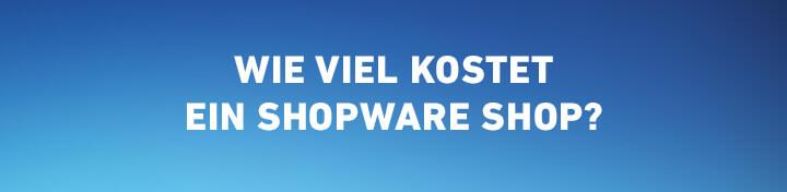 wie viel kostet ein shopware 5 shop
