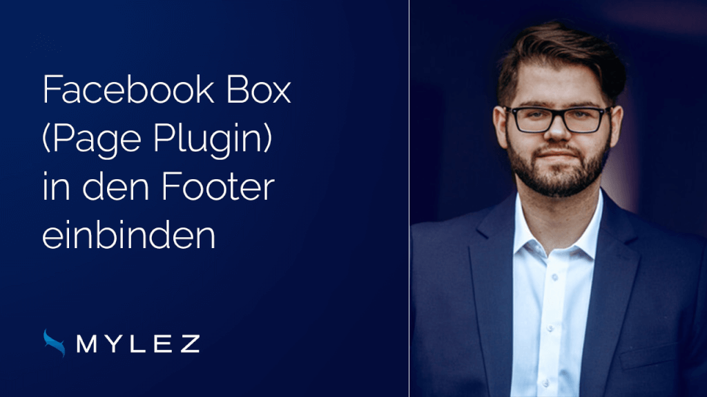 Facebook Box in den Footer einbinden