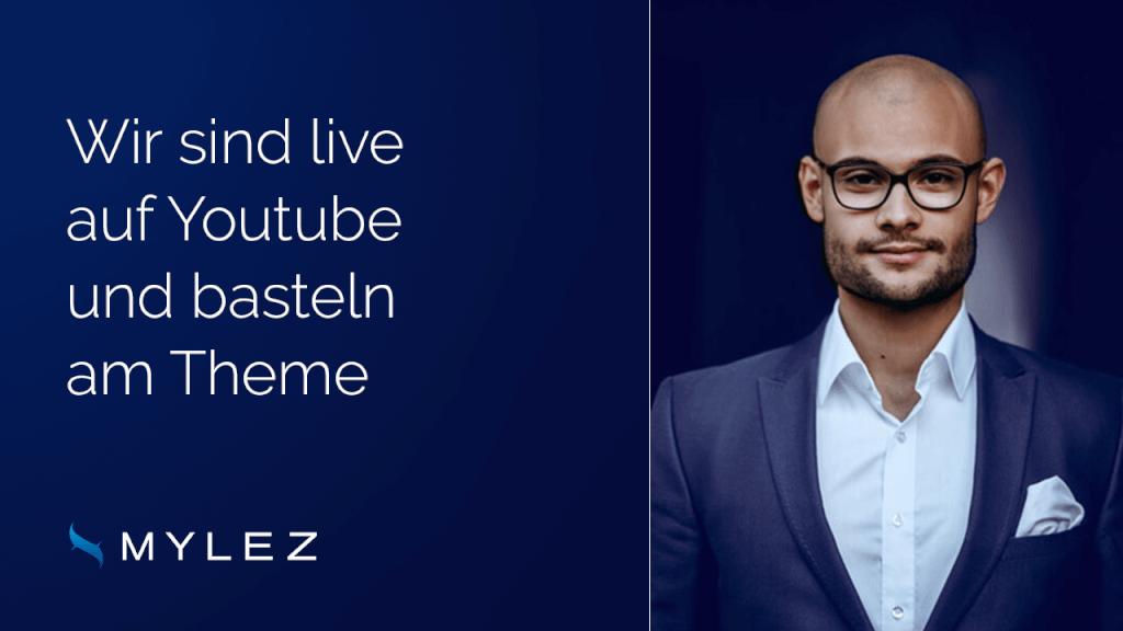 Wir sind live auf Youtube 11 - 12 Uhr