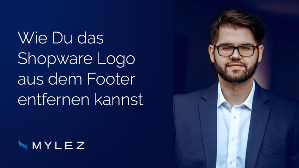 Wie Du das Shopware Logo aus dem Footer entfernen kannst