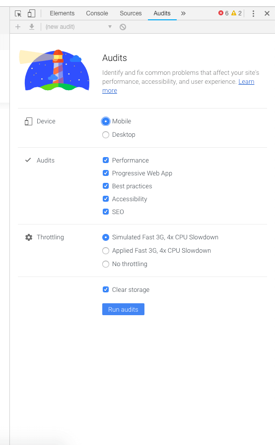 auditpage