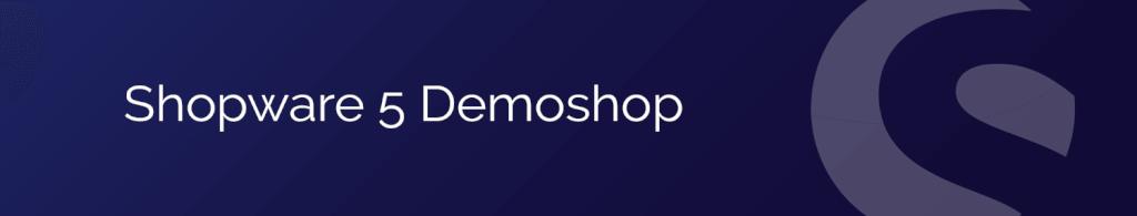 Shopware 5 Demo