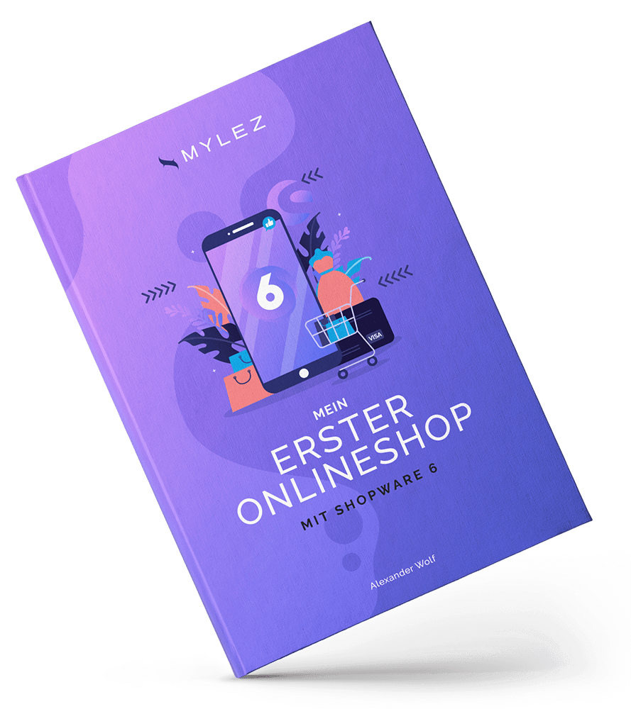 shopware tutorial ebook mockup