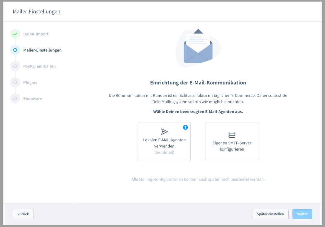 Shopware6InstallationMailer