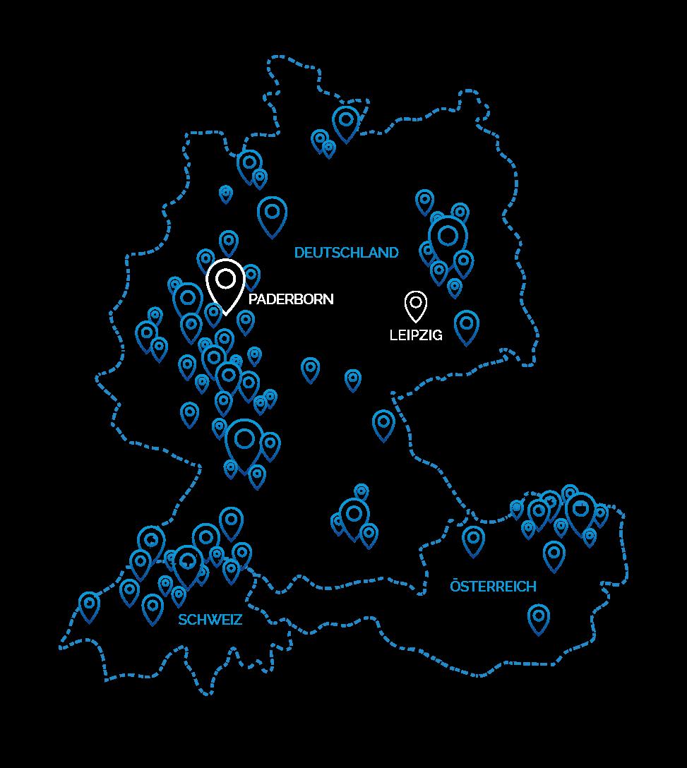 shopware agentur 8mylez map