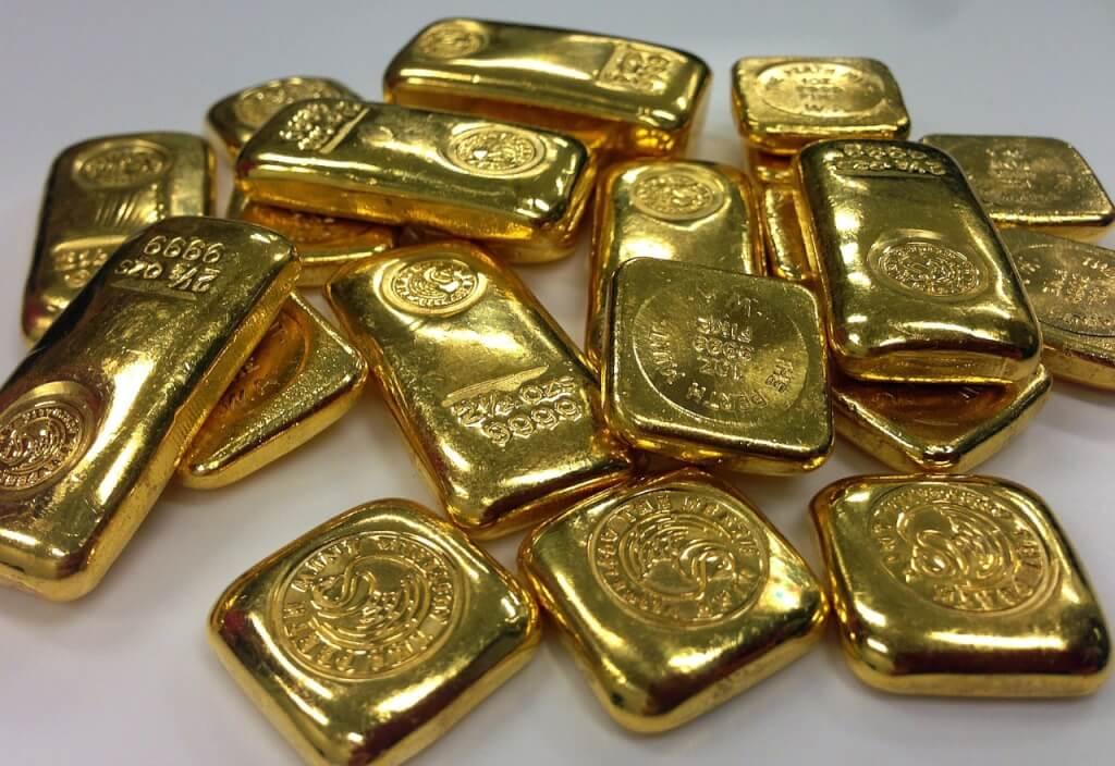 Edelmetalle Goldbarren