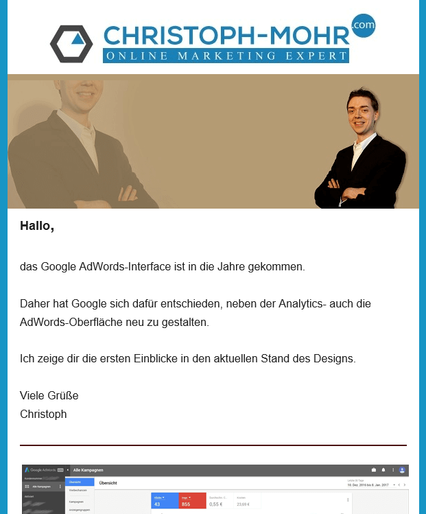 AdWords Newsletter