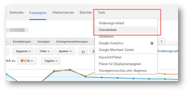 Conversion Tracking einrichten