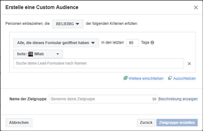 07 custom audience interaktion fanpage