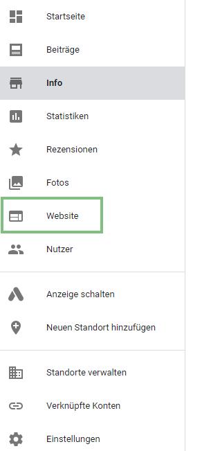 Gratis Webseite mit Google Mybusiness