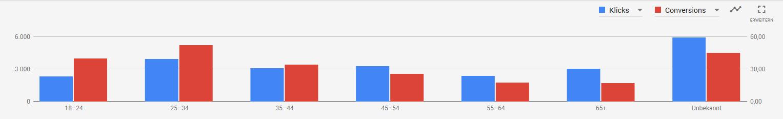 Google Ads demografische Faktoren