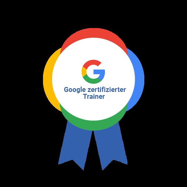 Offizieller und zertifizierter Google Trainer