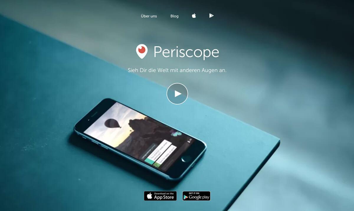 Periscope bringt dich deinen Kunden so nah wie nie