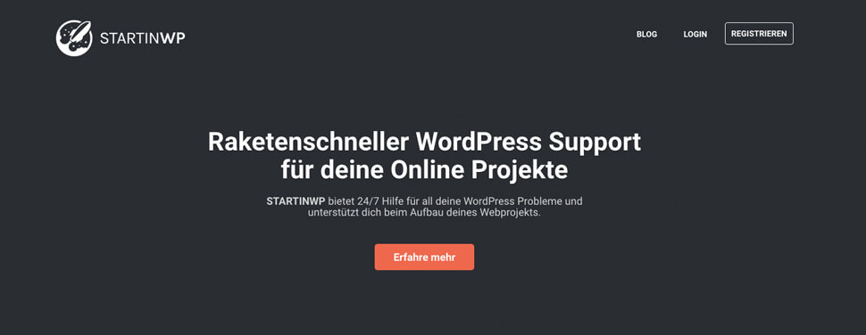 StartinWP Landingpage