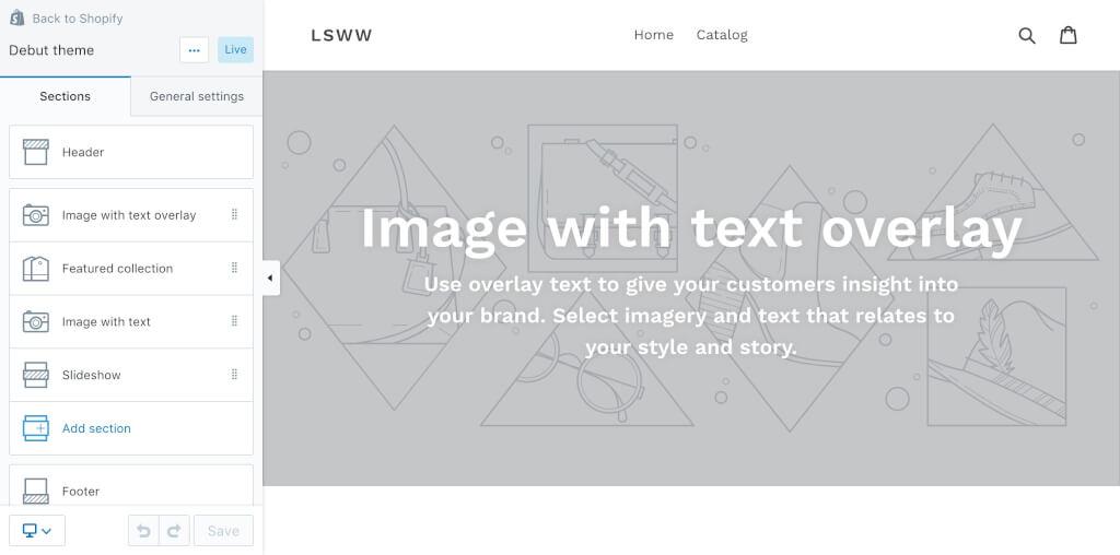 Shopify Einrichtung Theme indivudell anpassen