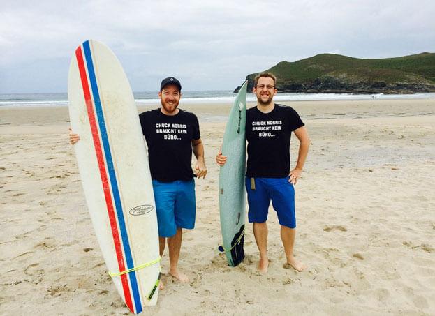 Arbeiten und Surfen - Ein Erlebnisbericht