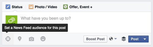 Facebook News Targeting