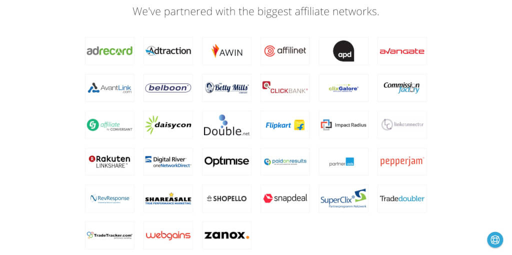 Datafeedr Affiliate Netzwerke