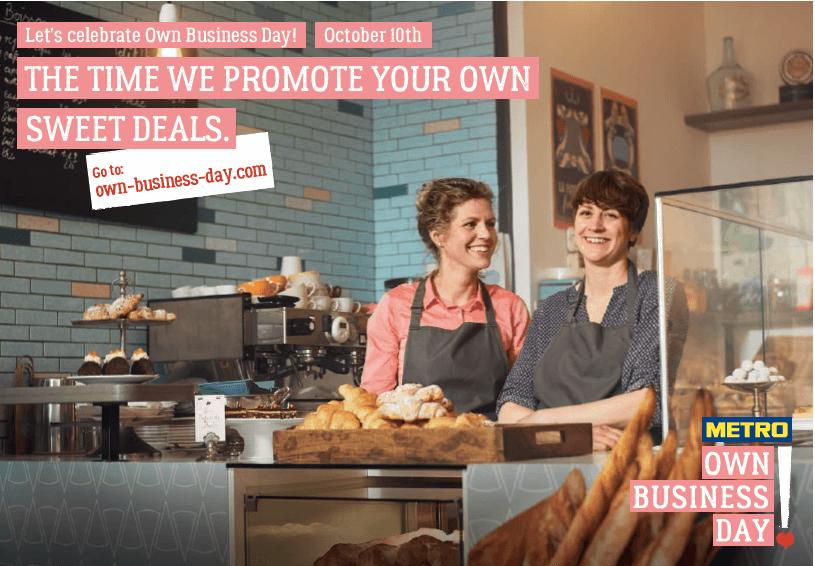 Anzeige: Wie du mit dem METRO Own Business Day eine Millionen Reichweite nutzen kannst