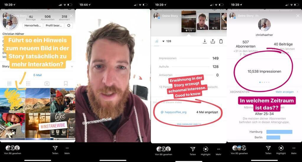 инструкции Instagram