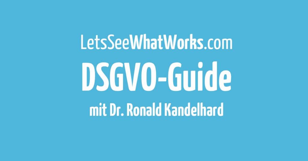 DSGVO - Wie du dein Business auf die neue Datenschutz Grundverordnung vorbereitest
