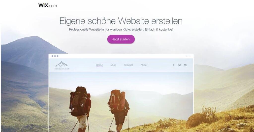 Wix Erfahrungen Homepage Baukasten Fur Website
