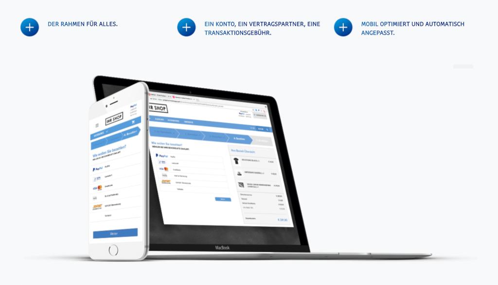 PayPal PLUS - Einheitlicher Checkout für Kunden