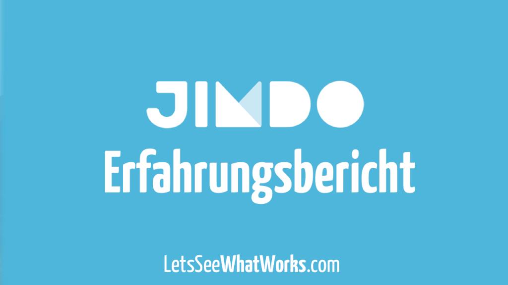 Jimdo Test: Meine Erfahrungen mit dem Homepage Baukasten aus Hamburg