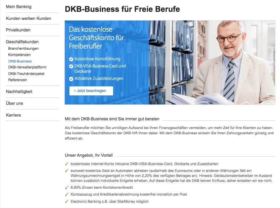 DKB Geschaeftskonto-Vergleich