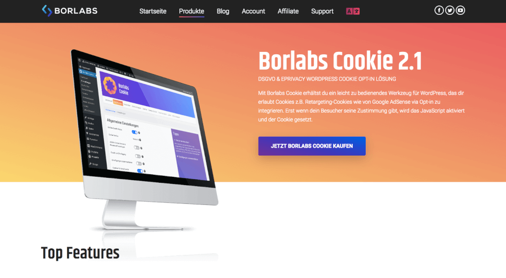 WordPress Cookie-Plugins: borlabs