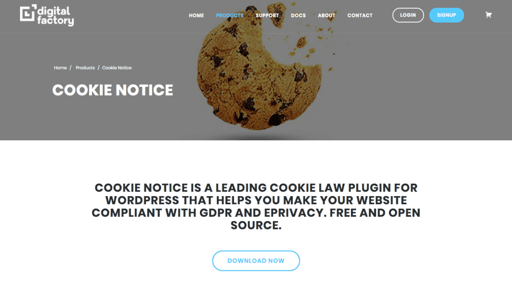 WordPress Cookie-Plugins: Cookie Notice