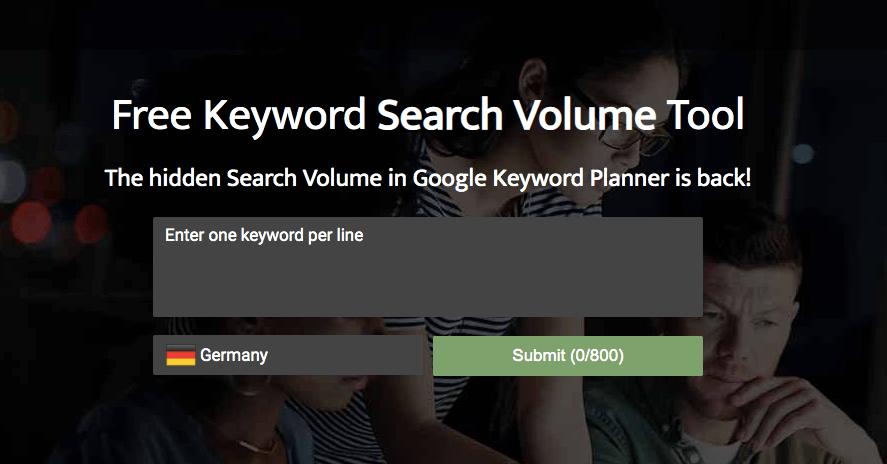 Searchvolume