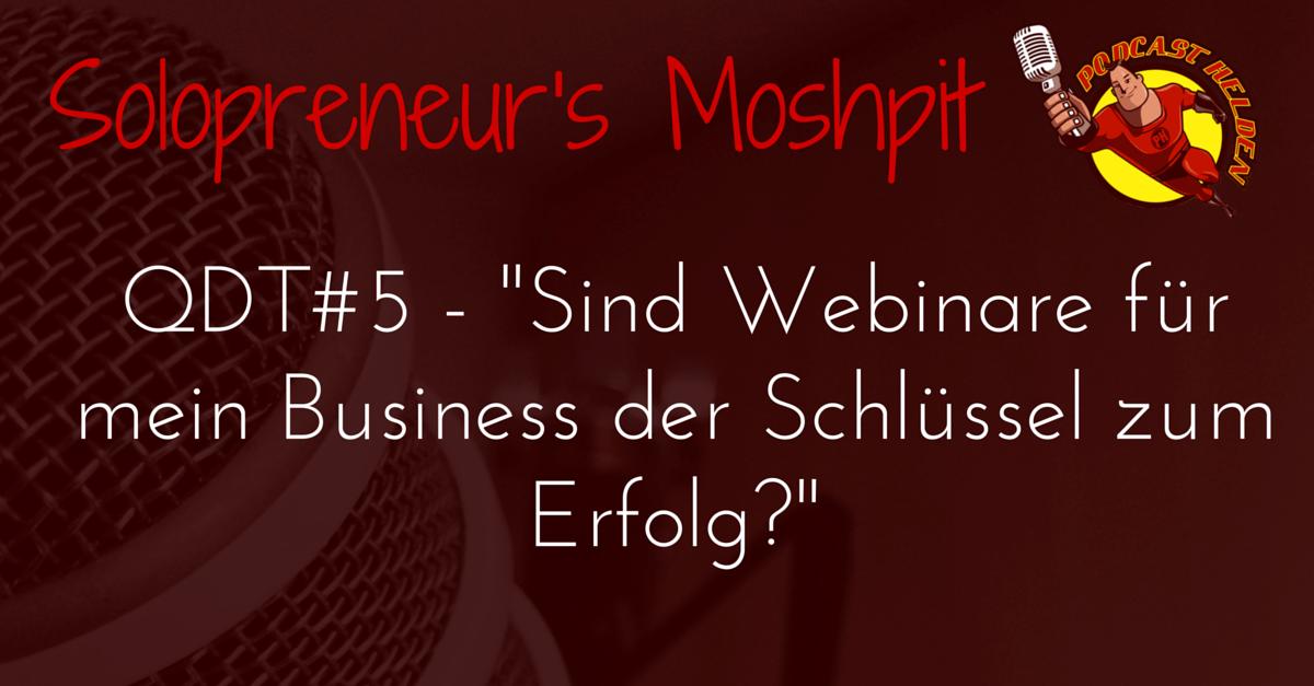 """""""Sind Webinare für mein Business der Schlüssel zum Erfolg?"""""""