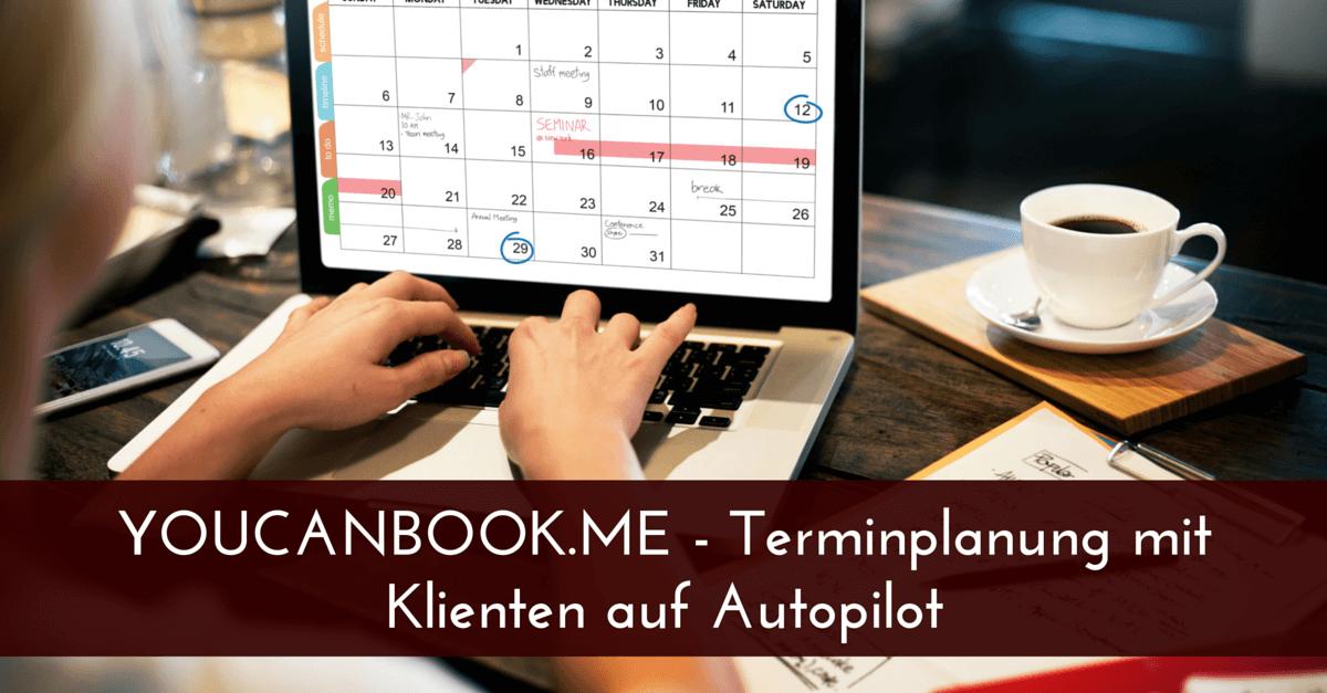 YOUCANBOOK.ME – Terminplanung mit Klienten auf Autopilot