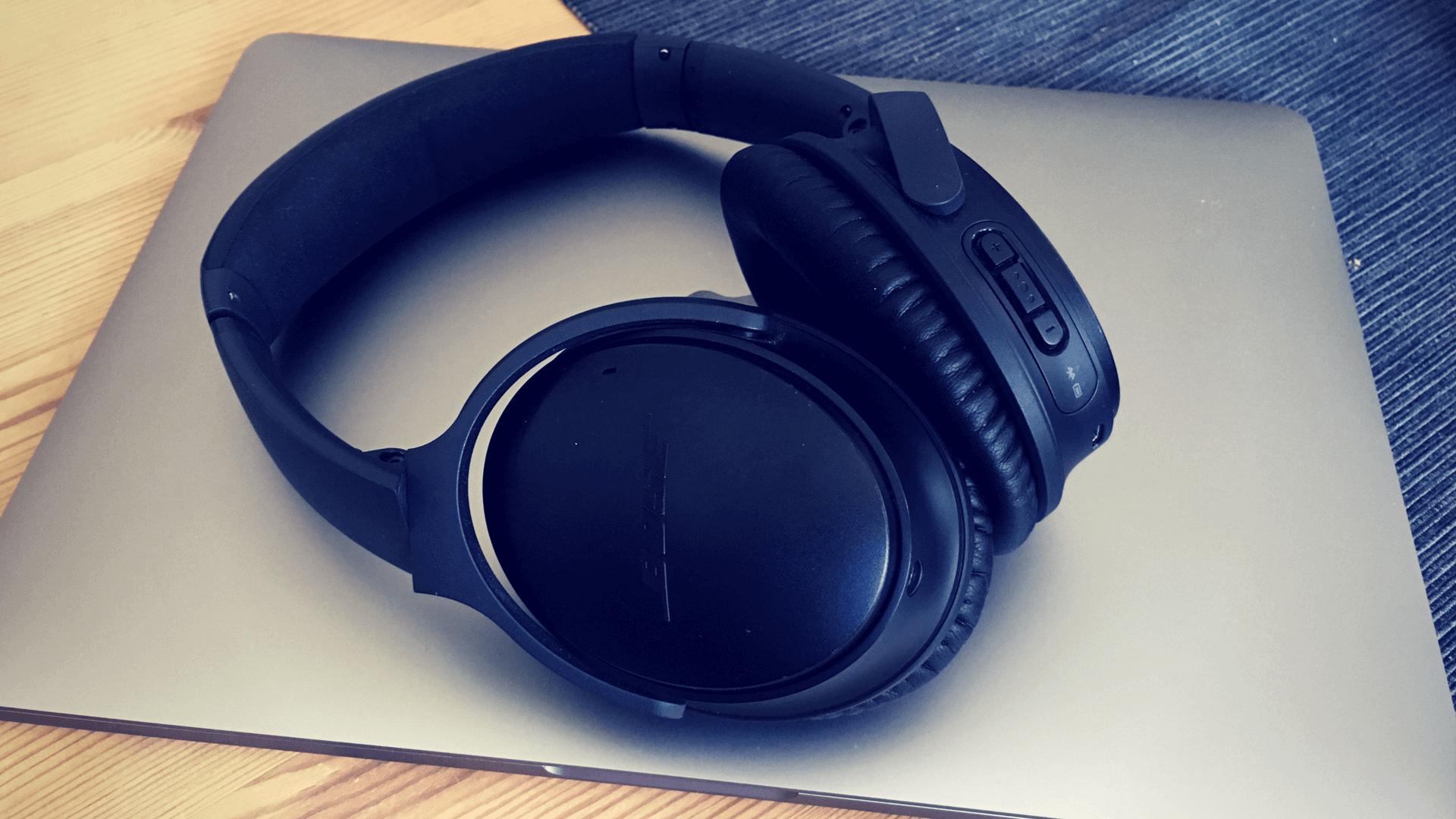 BOSE Quiet Comfort 35 – Warum ich mir ein Arbeitsleben ohne diese Kopfhörer nicht mehr vorstellen kann