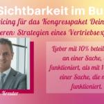 Dirk Kreuter im Interview: Mit dem Pricing deinen Umsatz optimieren – Strategien eines Vertriebsexperten