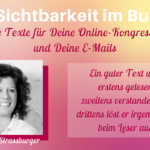 Dr. Anja Strassburger im Interview: Großartige Texte für deine Online-Kongress Webseite und deine Emails