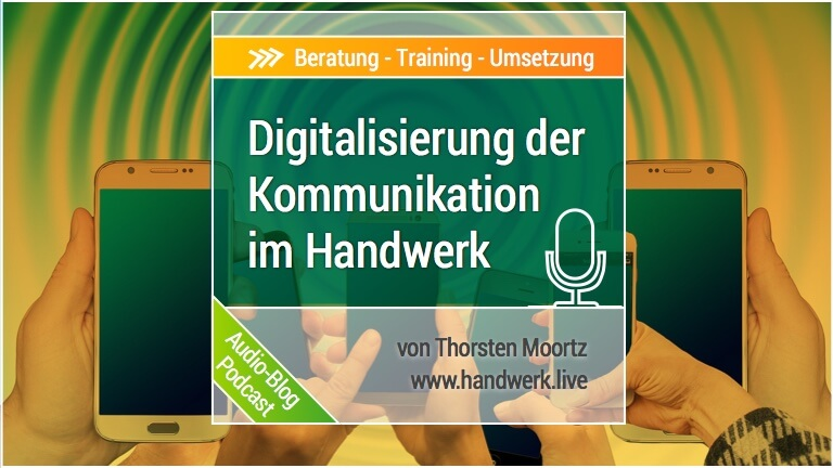 Digitalisierung der Kommunikation mit Interessenten