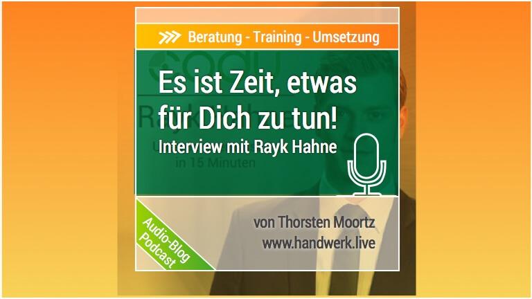 Erreiche Deine Ziele in 7 Tagen - Interview mit Rayk Hahne von Codu-training.de