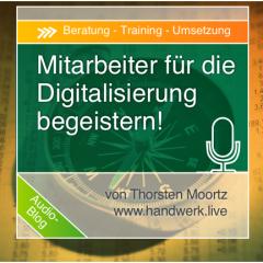 Mitarbeiter für die Digitalisierung begeistern