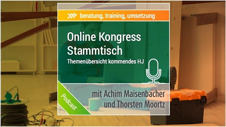 Onlinekongress Stammtisch Handwerk