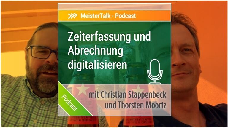 Zeiterfassung und Leistungen digital erfassen - MeisterTalk